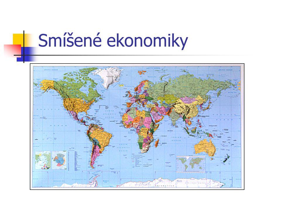 Smíšené ekonomiky