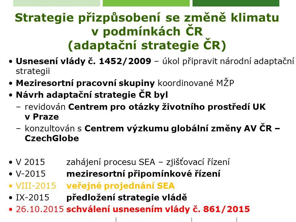Změna klimatu -Pozorované dopady a trendy pro ČR, EU a svět -Odhad vývoje (predikce) pro ČR do poloviny 21.