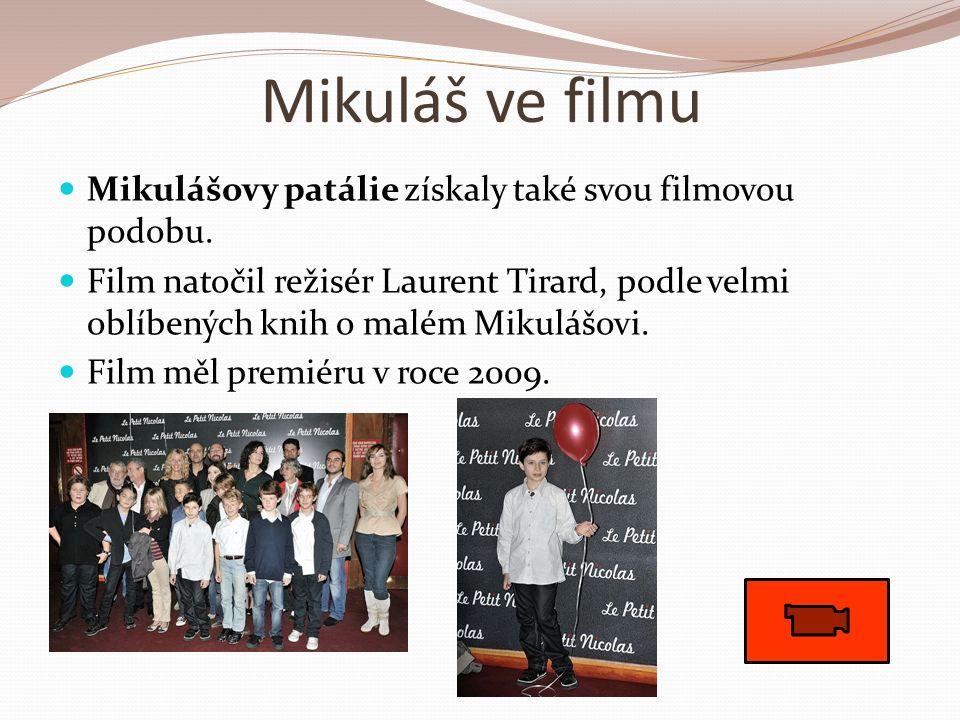 Mikuláš ve filmu Mikulášovy patálie získaly také svou filmovou podobu.