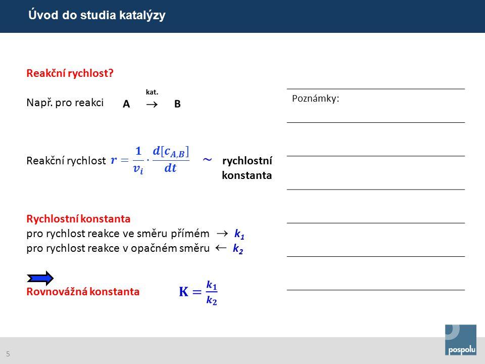 Co je to katalytický cyklus.Příklad: rozklad N 2 O N 2 O  N 2 + O-katal.