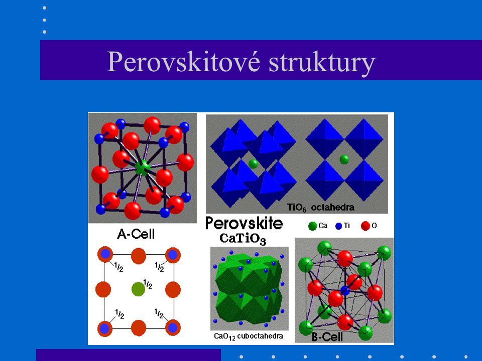 Perovskitové struktury