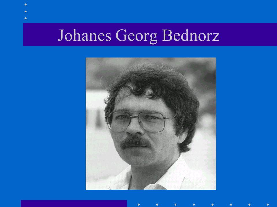 Johanes Georg Bednorz