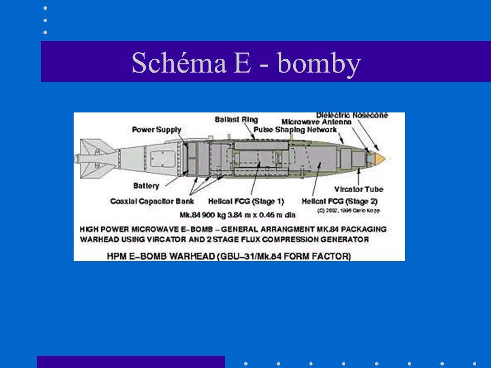 Schéma E - bomby
