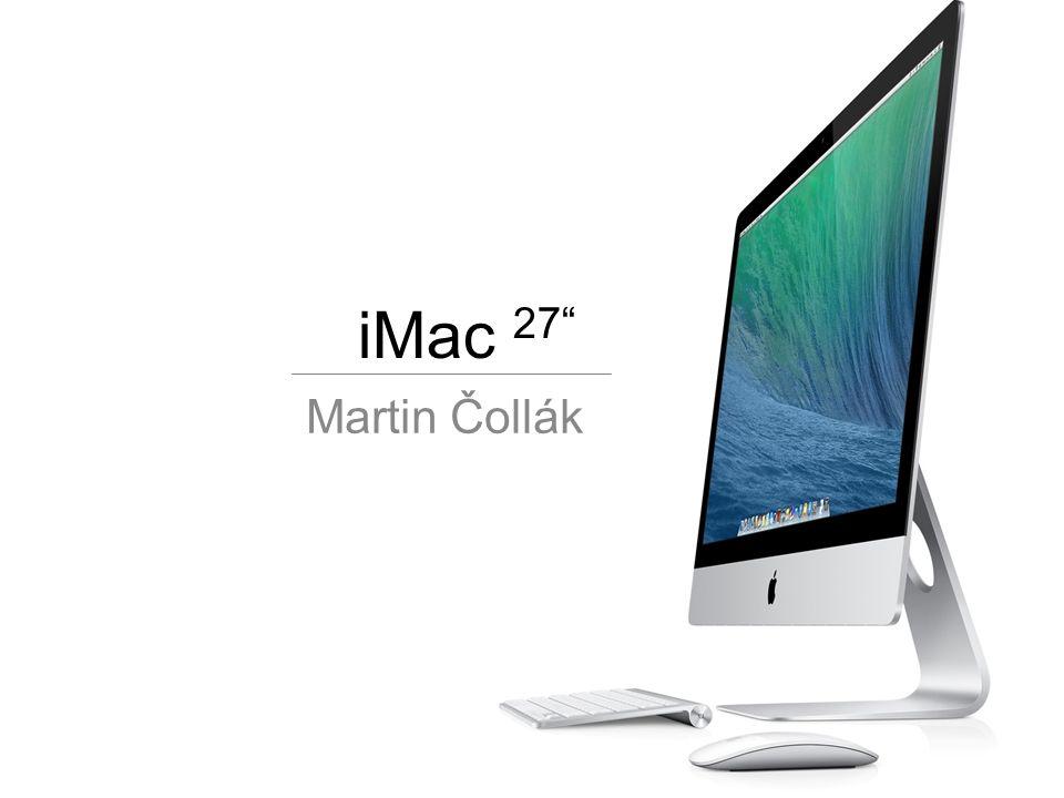 iMac 27 Martin Čollák