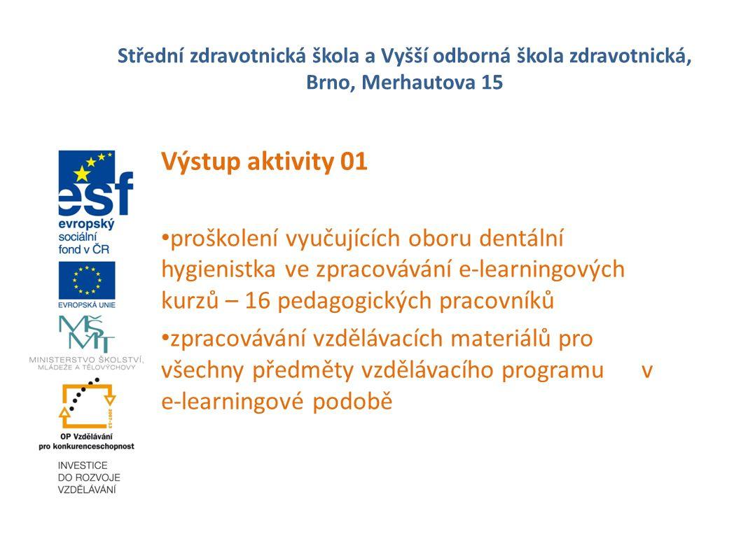 Střední zdravotnická škola a Vyšší odborná škola zdravotnická, Brno, Merhautova 15