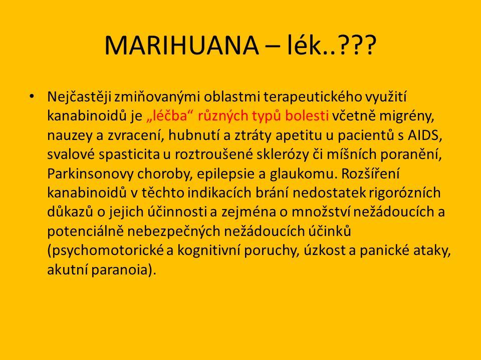 MARIHUANA – lék.. .