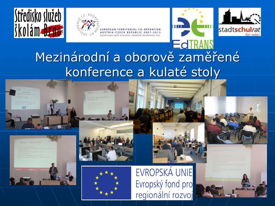Úvodní konference o projektu - Brno Úvodní konference o projektu - Brno Odborná konference - Den jazyků - Vídeň Odborná konference - Den jazyků - Víde