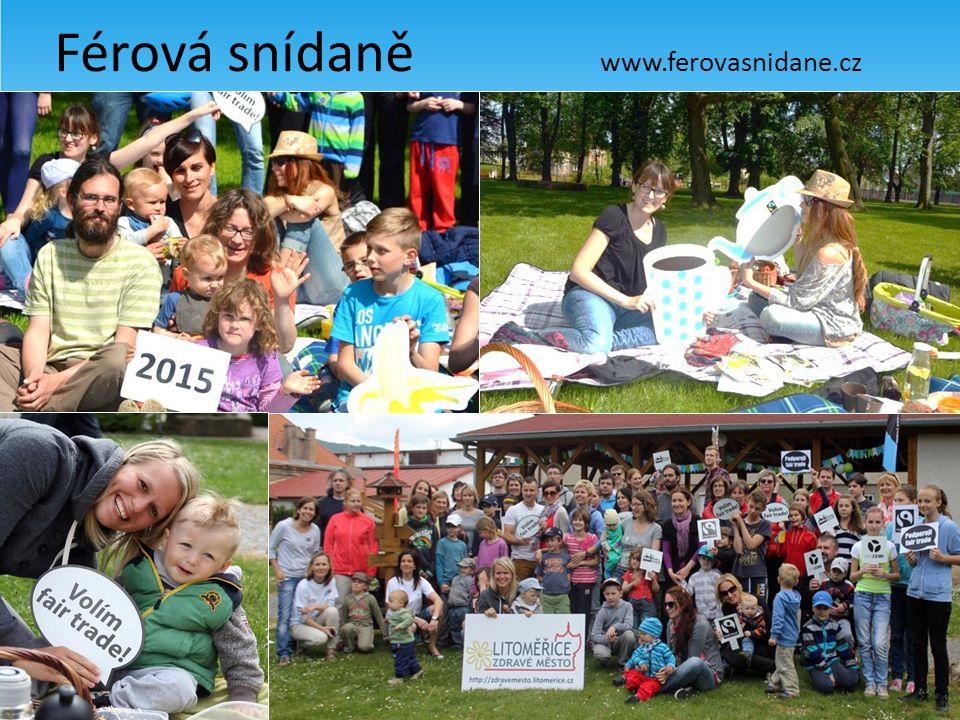 Férová snídaně www.ferovasnidane.cz Férová káva o páté Jeden svět