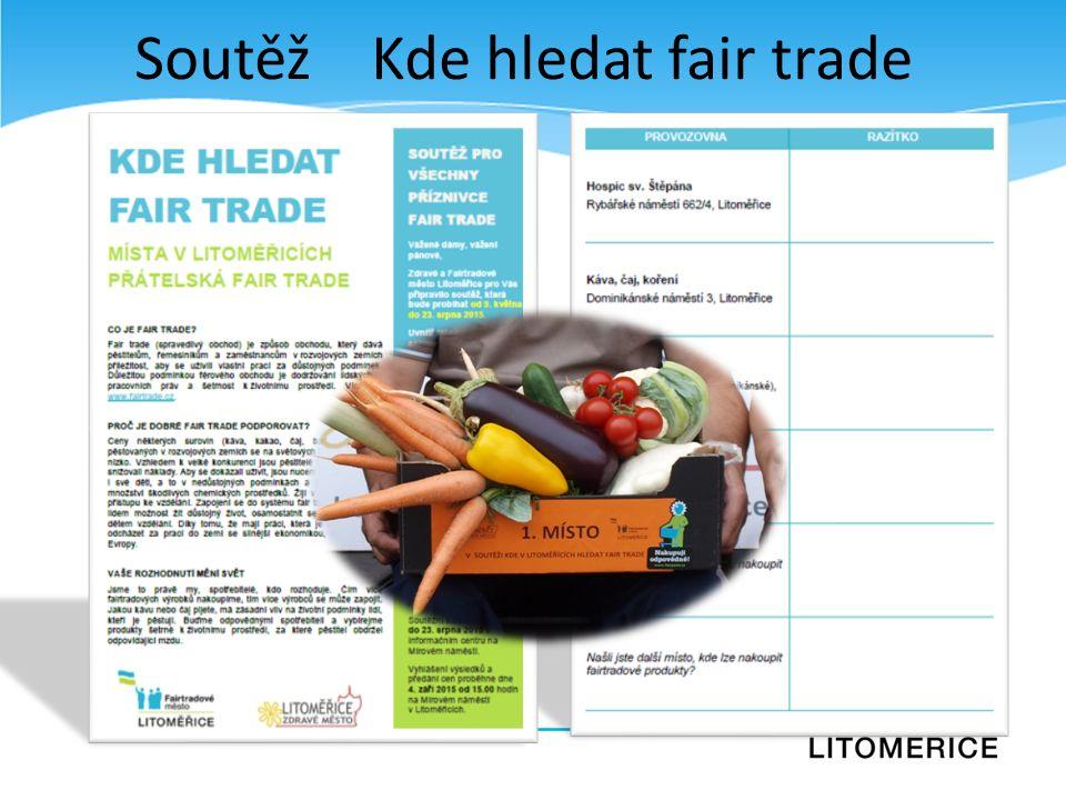 Soutěž Kde hledat fair trade