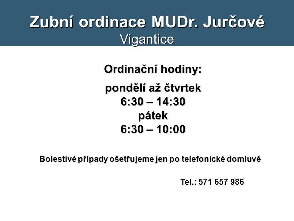 Zubní ordinace MUDr.