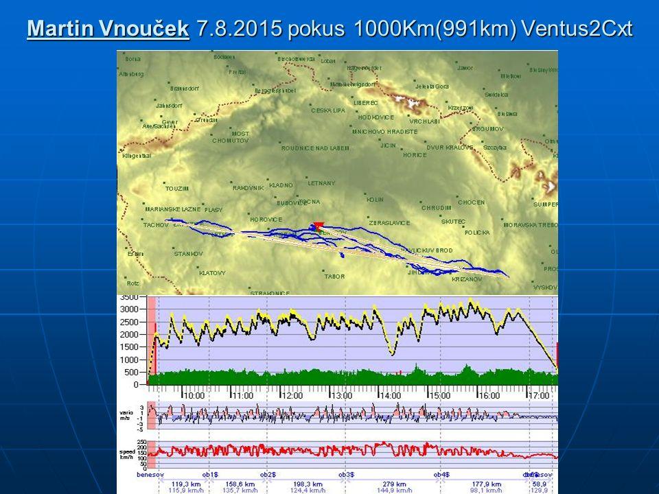 Martin Vnouček 7.8.2015 pokus 1000Km(991km) Ventus2Cxt