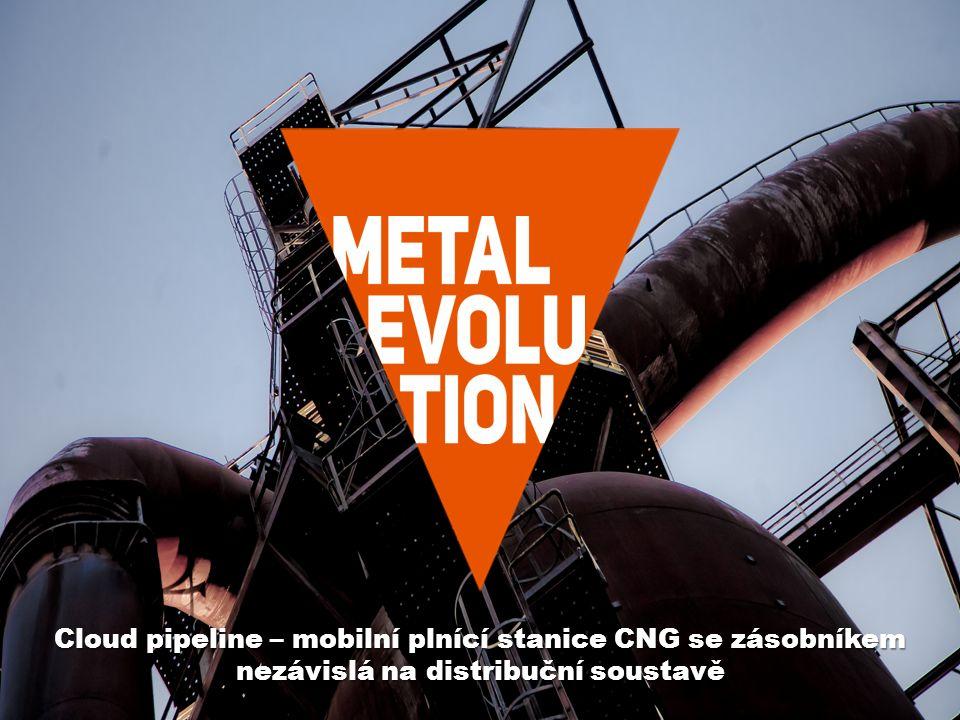 www.vitkovice.com Cloud pipeline – mobilní plnící stanice CNG se zásobníkem nezávislá na distribuční soustavě