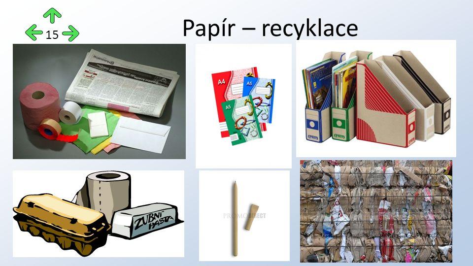 Papír – recyklace 15