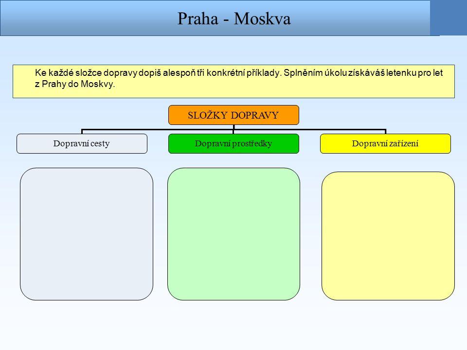 Moskva - Vladivostok Další úsek cesty projedeš vlakem Transsibiřskou magistrálou.