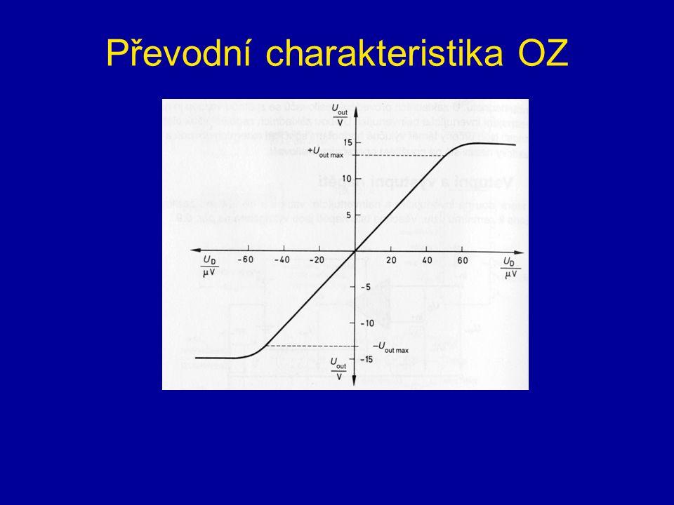 Převodní charakteristika OZ