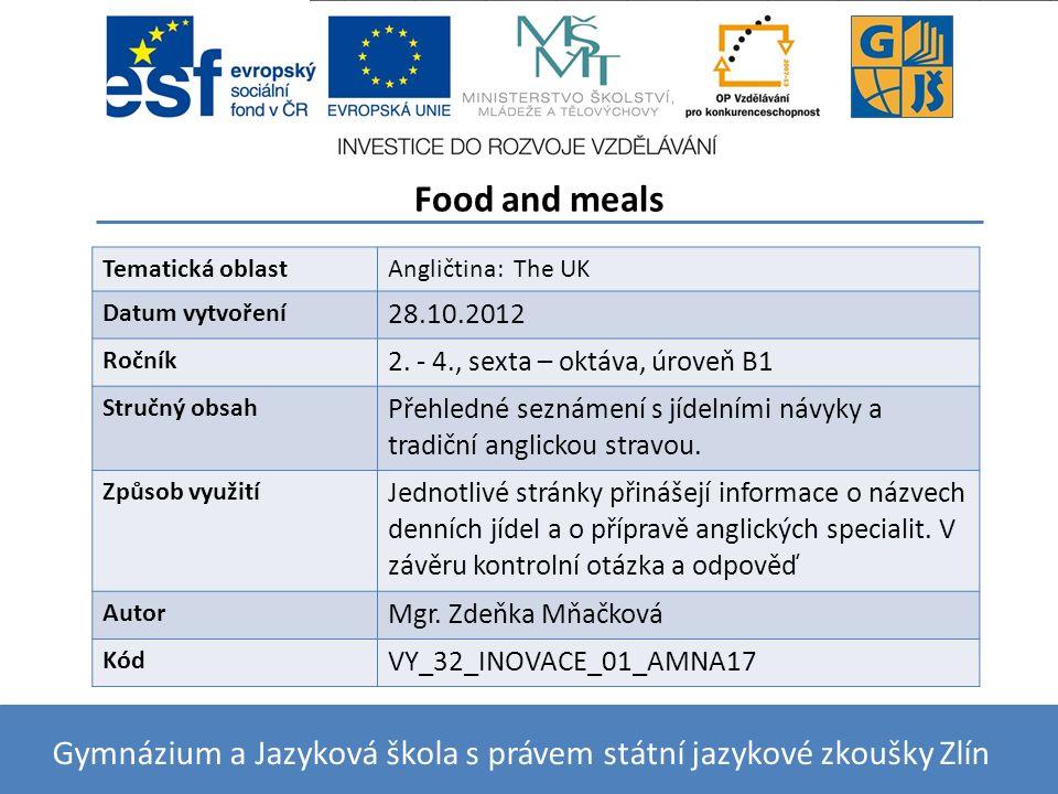 Klepnutím lze upravit styl předlohy podnadpisů. 27.10.2012 BRITISH FOOD