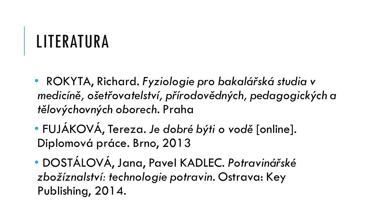 LITERATURA ROKYTA, Richard.
