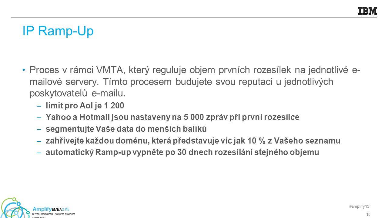 Proces v rámci VMTA, který reguluje objem prvních rozesílek na jednotlivé e- mailové servery. Tímto procesem budujete svou reputaci u jednotlivých pos