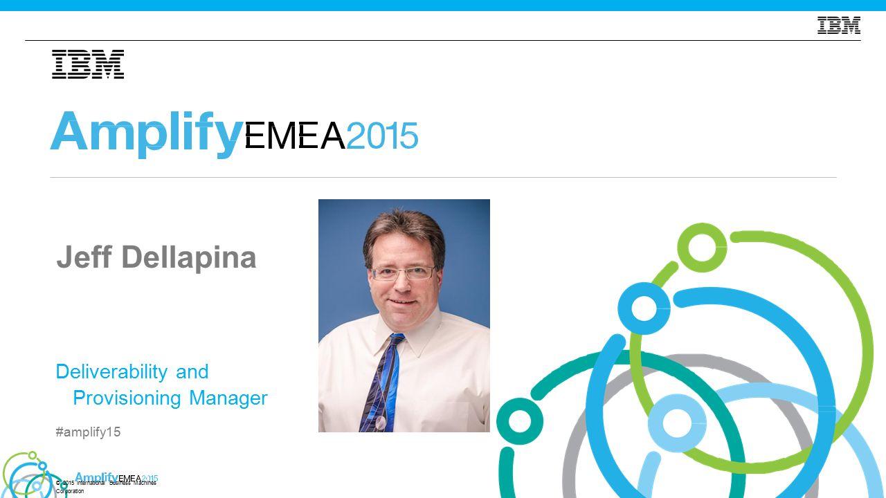 © 2015 International Business Machines Corporation #amplify15 12 Co se stane po odeslání e-mailu?