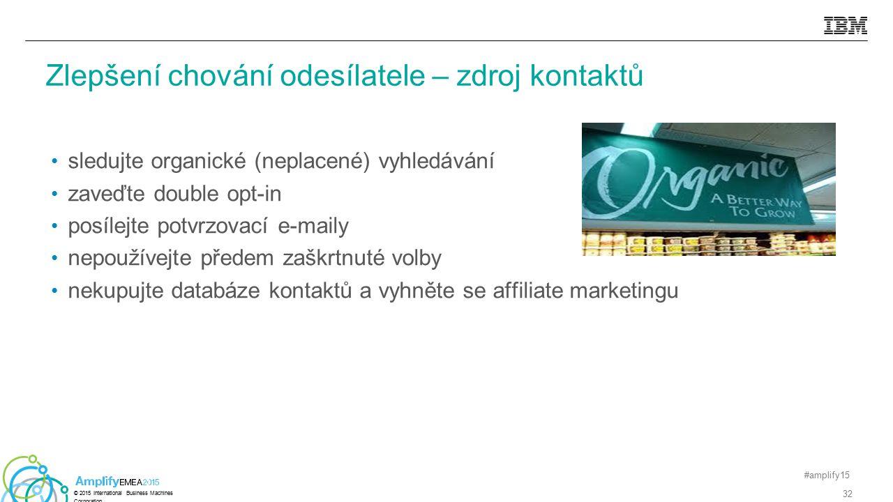 sledujte organické (neplacené) vyhledávání zaveďte double opt-in posílejte potvrzovací e-maily nepoužívejte předem zaškrtnuté volby nekupujte databáze