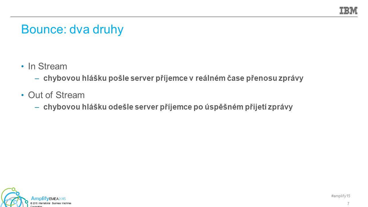 Silverpop může rozesílat e-mail jménem e.company.com e.company.com TXT v=spf1 ip4:208.85.1.0 – all Actual Error message:: Hotmail - smtp;550 (COL0-MC4-F6) command rejected due to Sender ID test failing for IP 208.1.1.1.