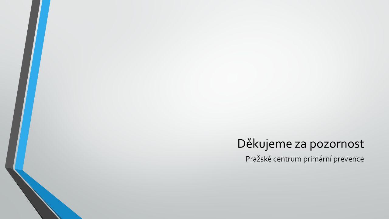 Děkujeme za pozornost Pražské centrum primární prevence