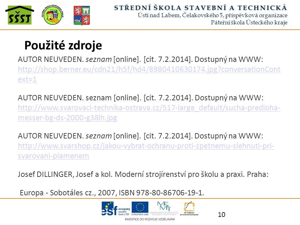 AUTOR NEUVEDEN. seznam [online]. [cit. 7.2.2014].