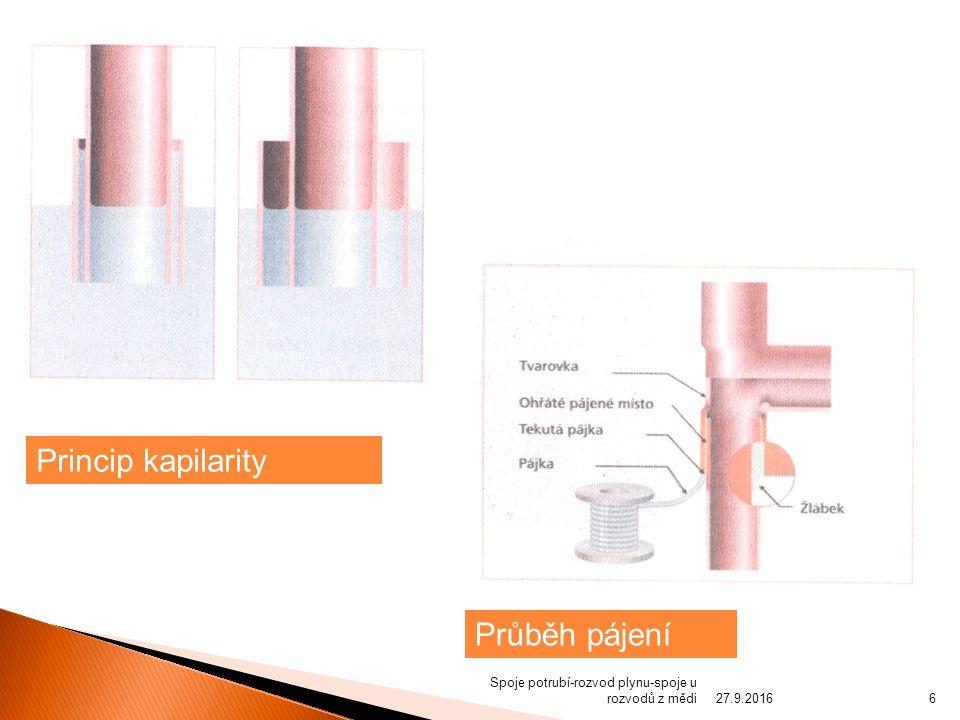  Pro svařované spoje se doporučuje jmenovitá tloušťka stěny minimálně 1,5 mm.