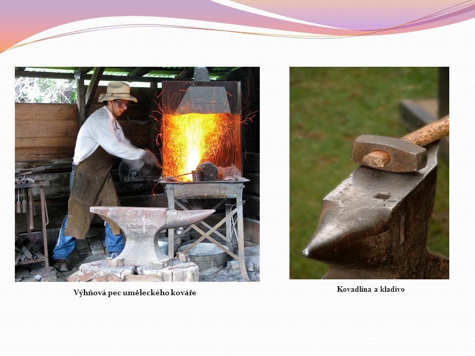 Výhňová pec uměleckého kováře Kovadlina a kladivo