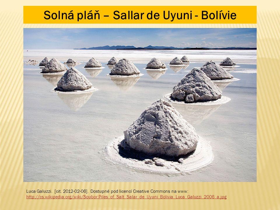 Solná pláň – Sallar de Uyuni - Bolívie Luca Galuzzi.