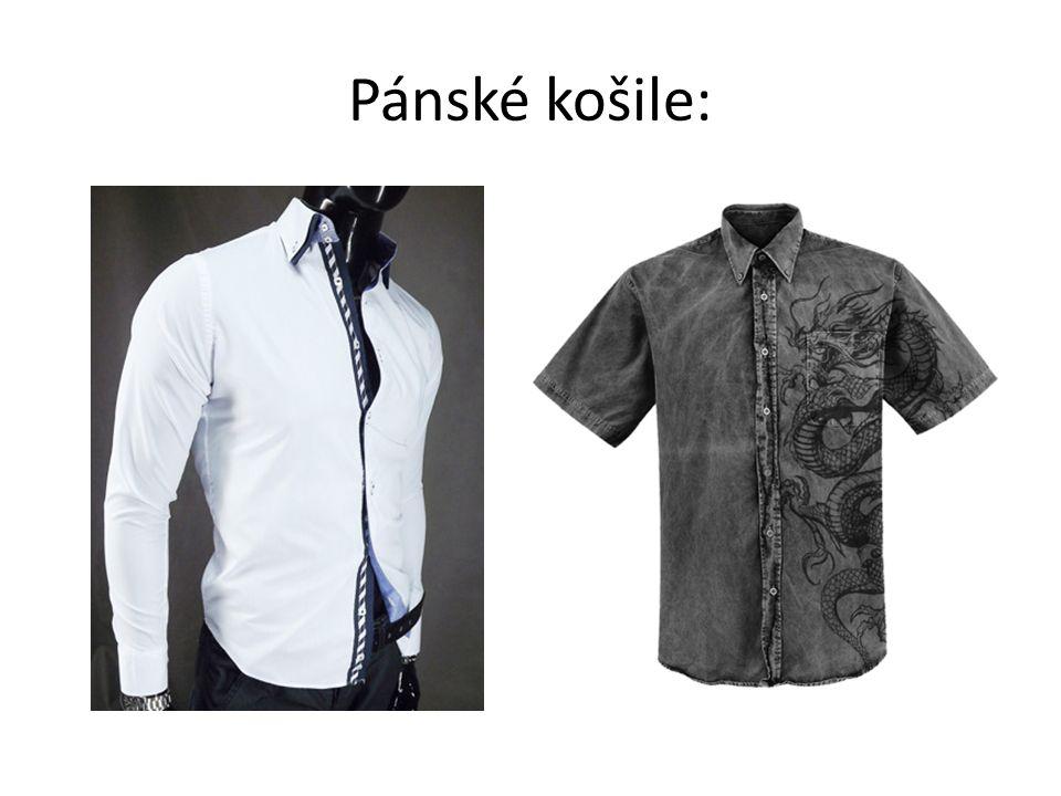 Pánské košile: