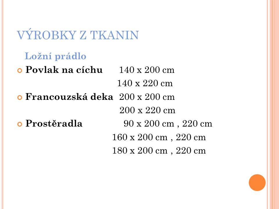 VÝROBKY Z TKANIN Ložní prádlo Dětské povlečení polštářek 40 x 60 cm dečka 90 x 130 cm 100 x 135 cm materiál - krep, flanel, bavlna