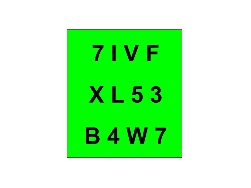 7 I V F X L 5 3 B 4 W 7