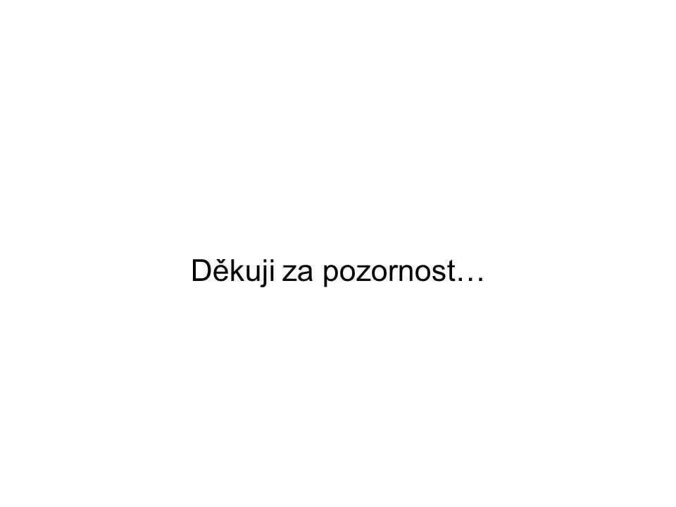 Děkuji za pozornost…