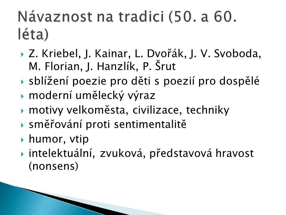  Z. Kriebel, J. Kainar, L. Dvořák, J. V. Svoboda, M.