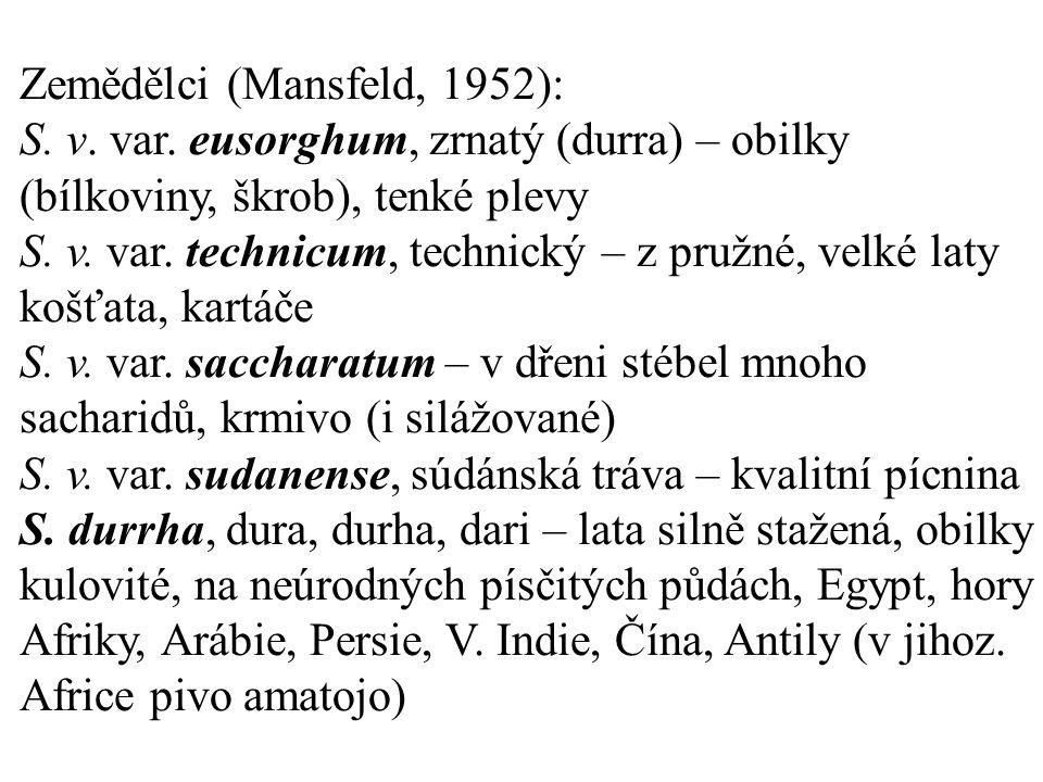 Zemědělci (Mansfeld, 1952): S. v. var.