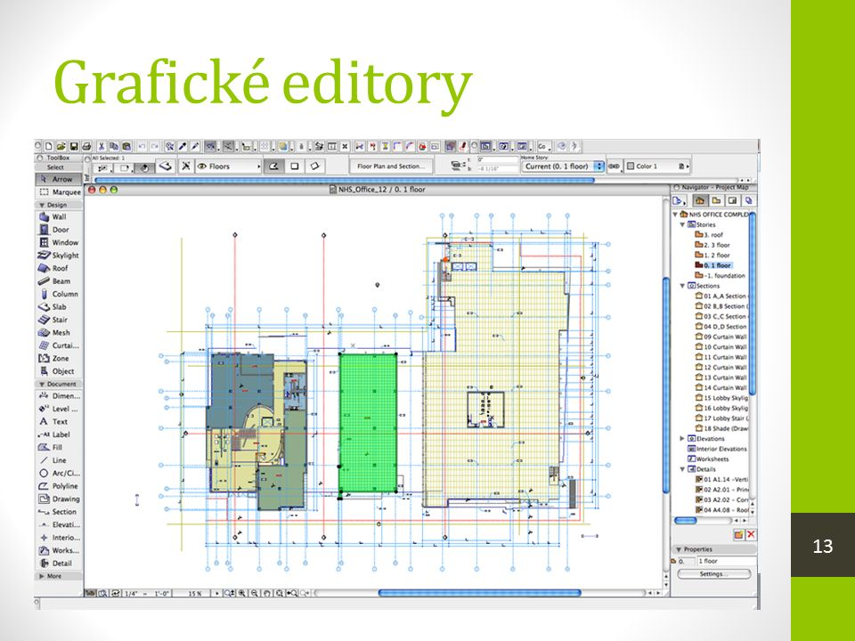 Grafické editory  zobrazují a zpracovávají obrazové informace  grafické prohlížeče  zobrazují grafiku  Zoner Photo Studio, integrovaný prohlížeč v