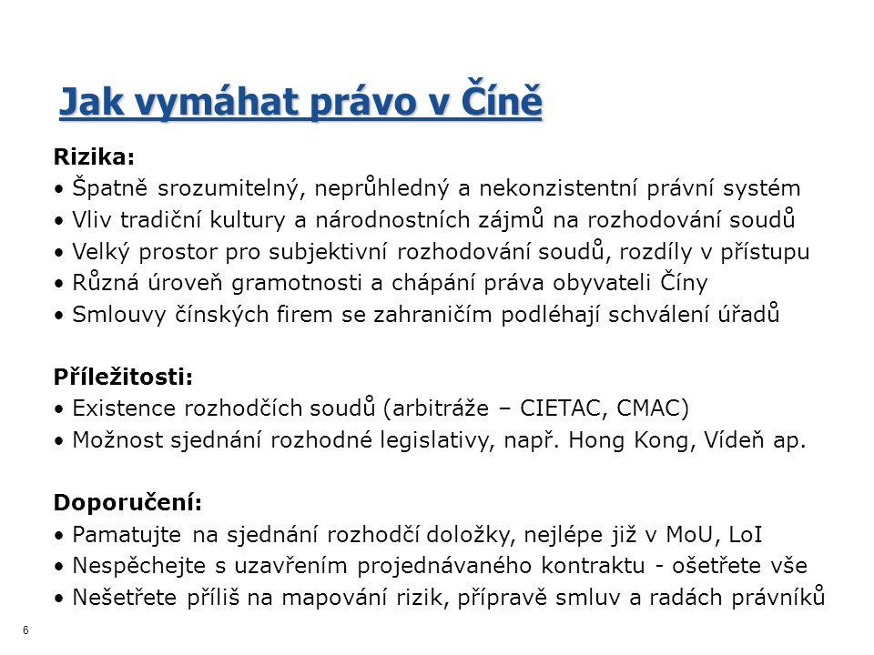 7 Informace na www.businessinfo.cz/cina: www.businessinfo.cz/cina