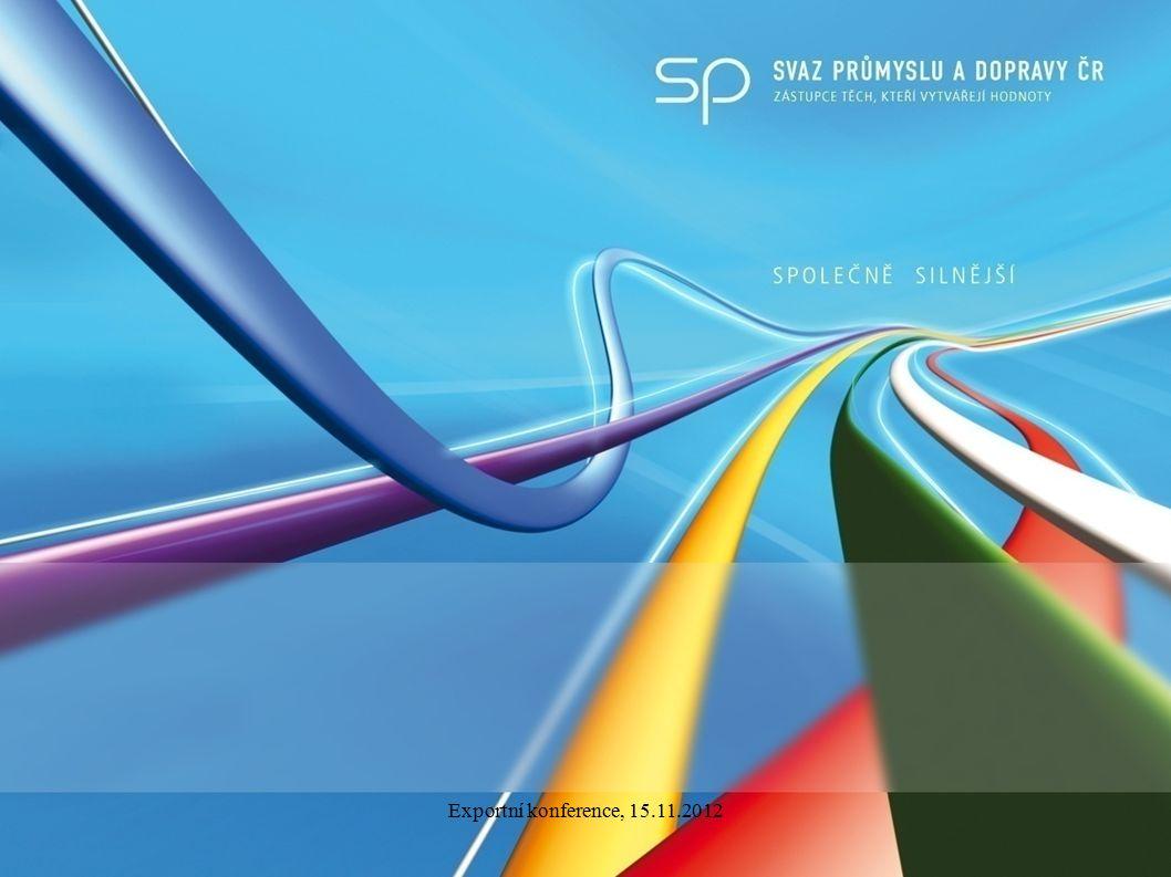 Exportní konference, 15.11.2012