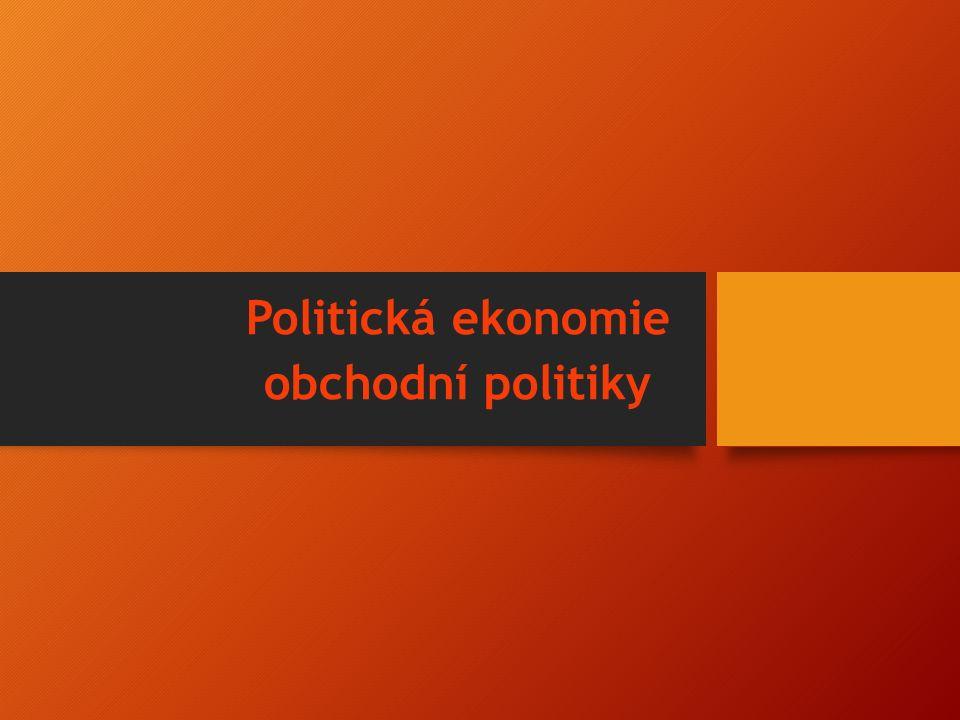 Politická ekonomie obchodní politiky