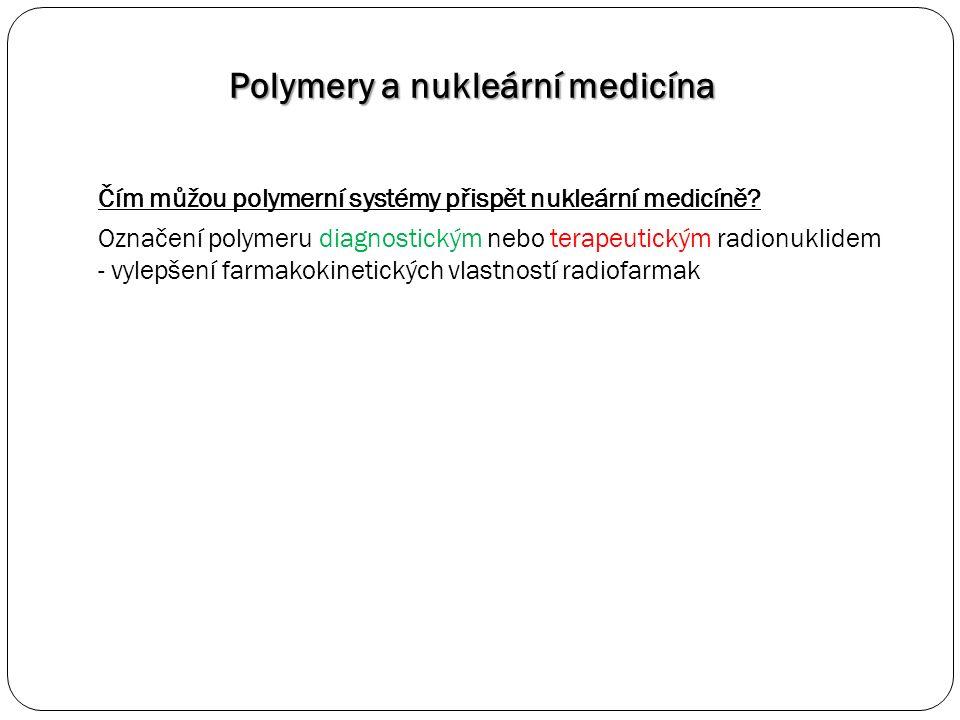 Čím můžou polymerní systémy přispět nukleární medicíně.