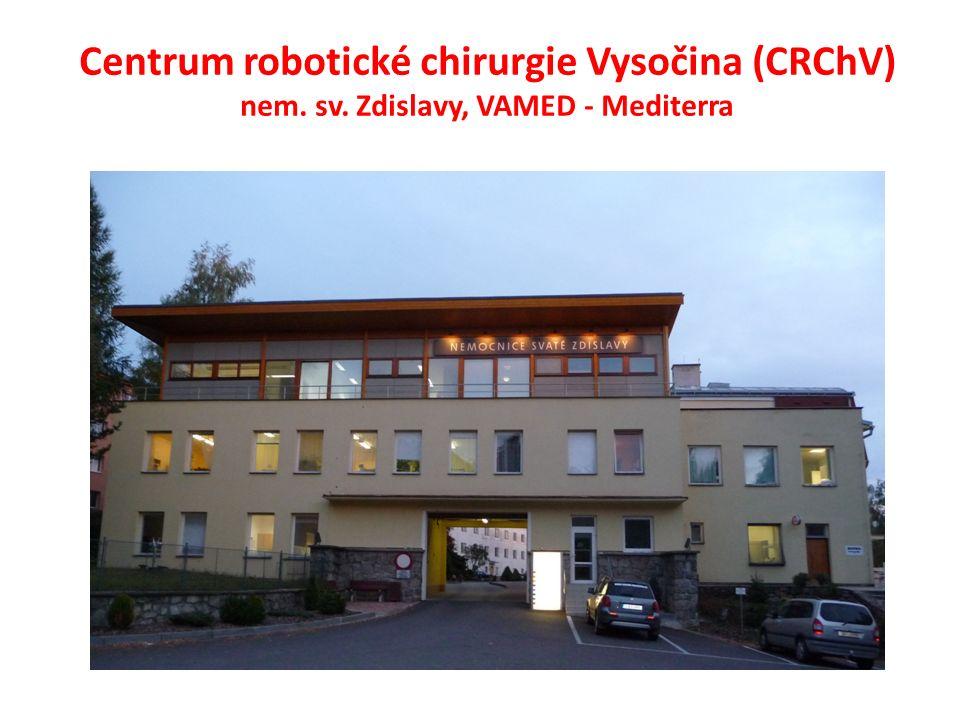 Centrum robotické chirurgie Vysočina (CRChV) nem. sv. Zdislavy, VAMED - Mediterra