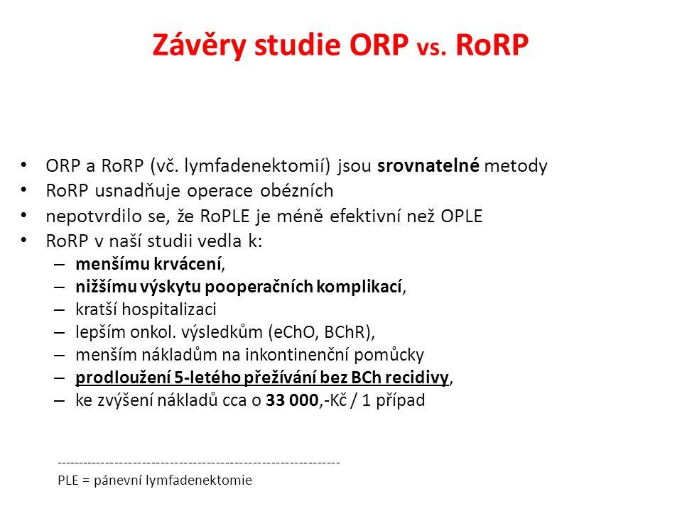 ORP a RoRP (vč.