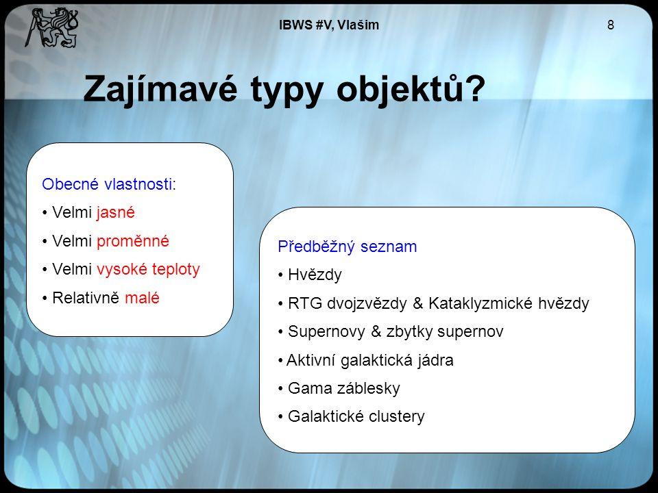 IBWS #V, Vlašim8 Zajímavé typy objektů.