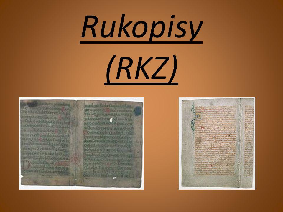 Rukopisy (RKZ)