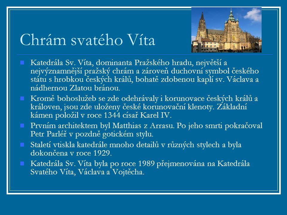 Chrám svatého Víta Katedrála Sv.