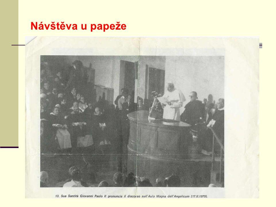 Návštěva u papeže