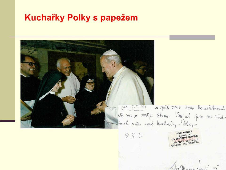 Kuchařky Polky s papežem