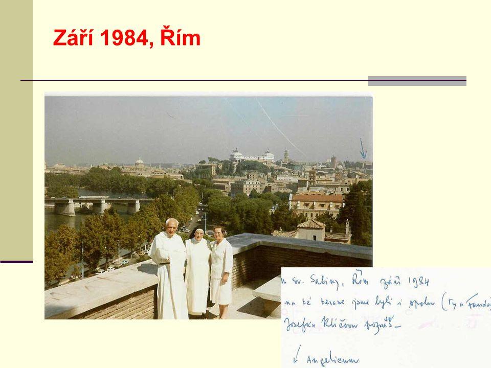 Září 1984, Řím