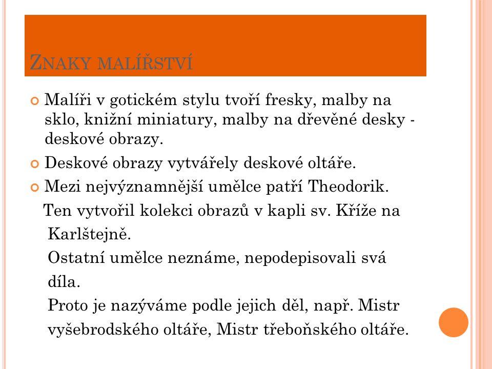 M ISTR THEODORIK - AUTOPORTRÉT A OBRAZ - S V. JERONÝM